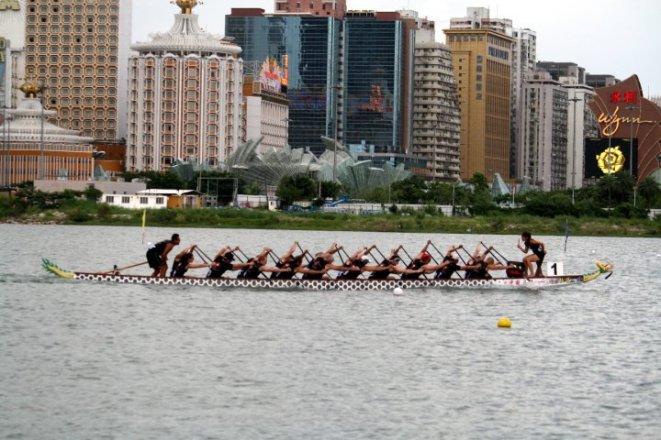 World Championships of Dragon Boat Racing 2010 Macau, China Edmonton Dragon Boat Racing Club